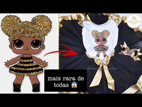 Fantasia Queen Bee Lol Ultra Rara Anna Laura Artigos Infantis Youtube