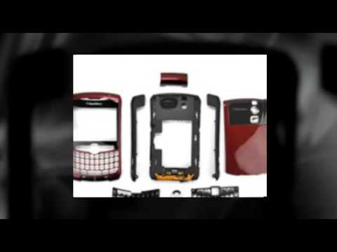 BlackBerry Curve 8300 8310 8320 Full Housing Faceplate Cove