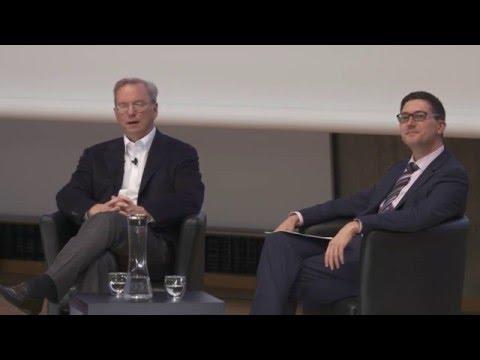 Eric Schmidt zu Gast an der TU Berlin