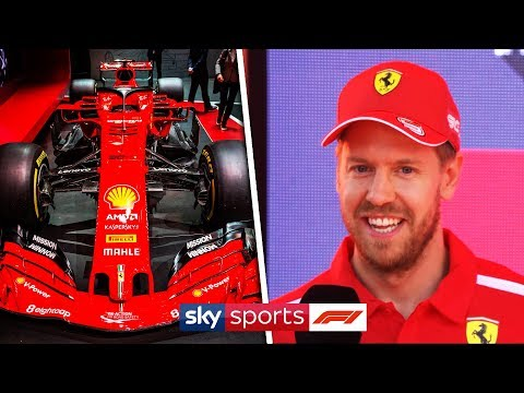 Sebastian Vettel reveals his pet name for his new Ferrari SF90 car! 🏎️