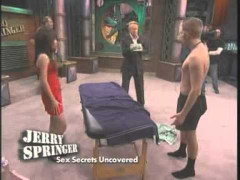 Jerry springer girls naked and uncensored, dildo sitting