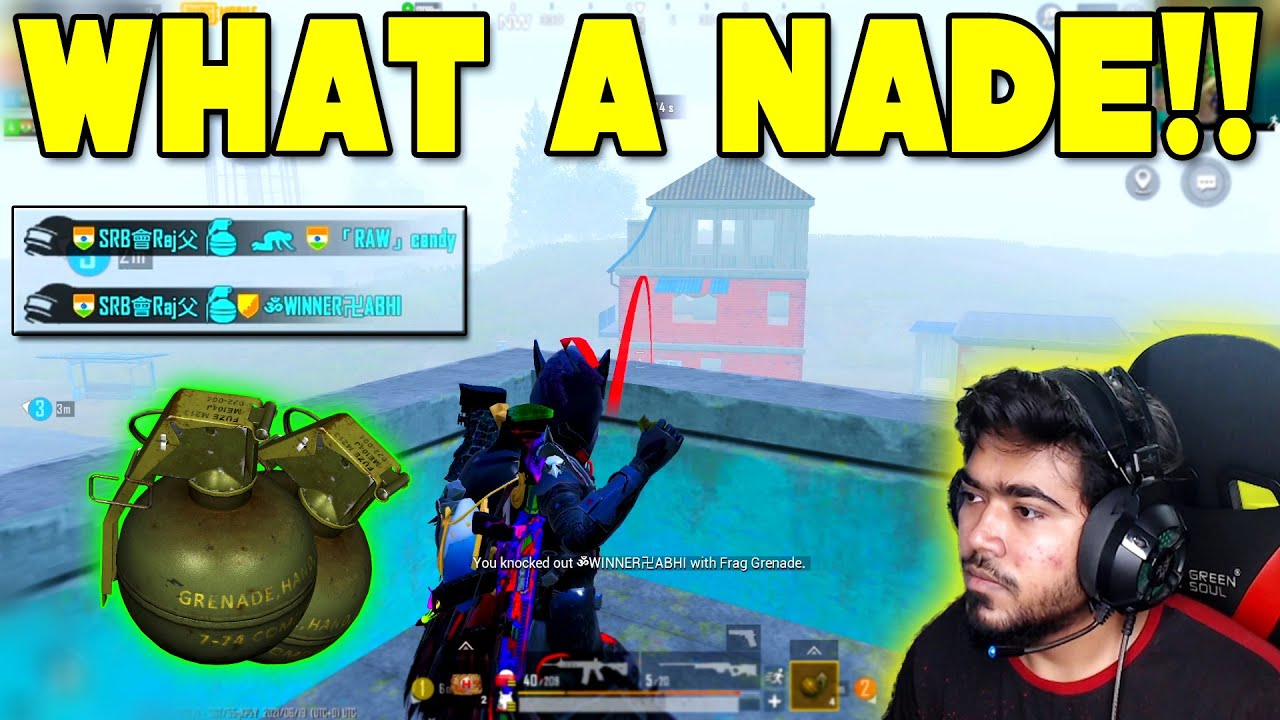 NADE or WHAT!! Nade-na இப்டி போடணும் - Hitting two Flares total Lobby came