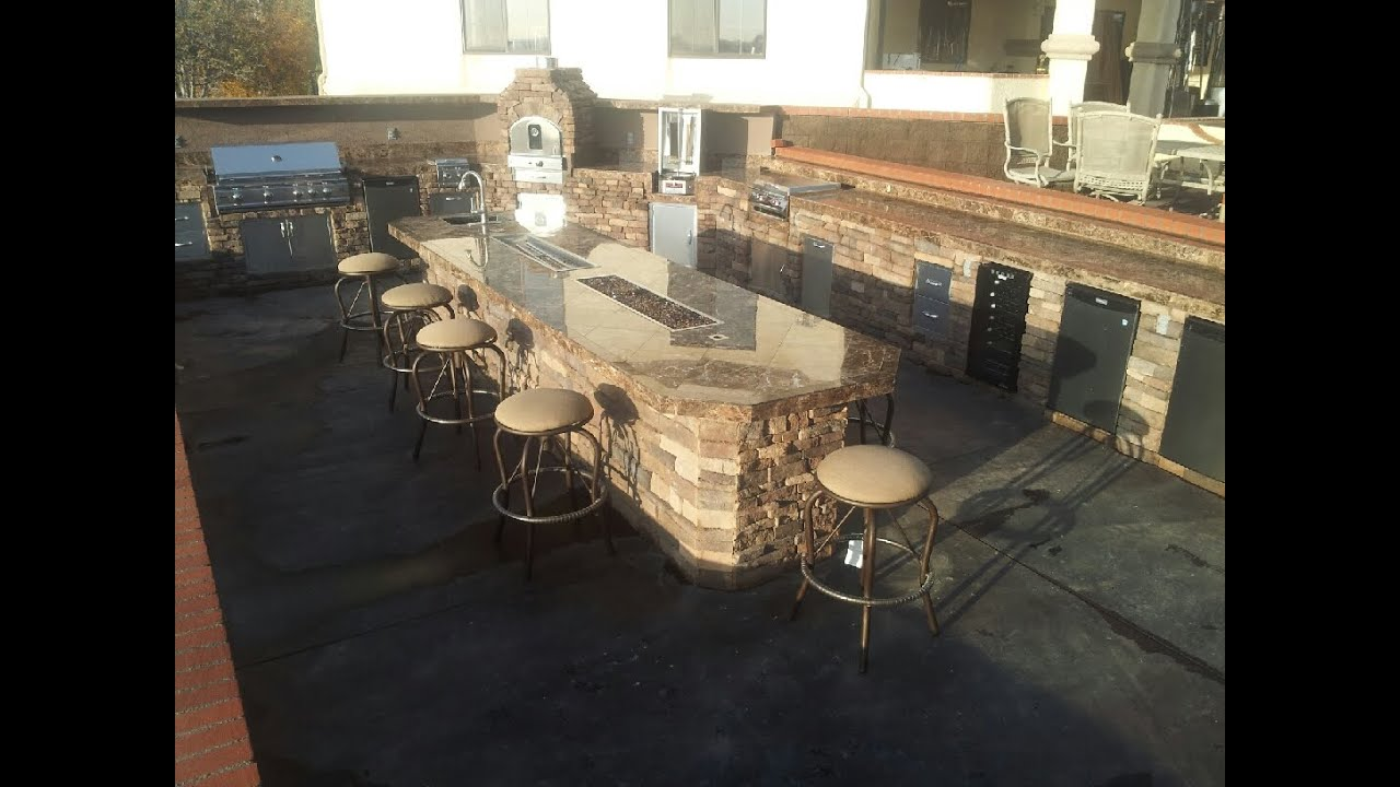 bbq islands fire places fire tables complete bbq island design ideas youtube - Bbq Design Ideas