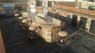 Bbq Islands - Fire Places - Fire Tables - Complete Bbq Island Design Ideas