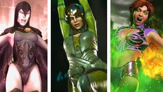 Injustice & Injustice 2: All Girls Supermoves