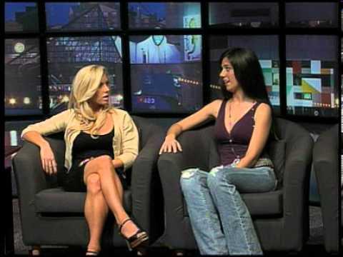 Crystal Milana on 98Rock TV