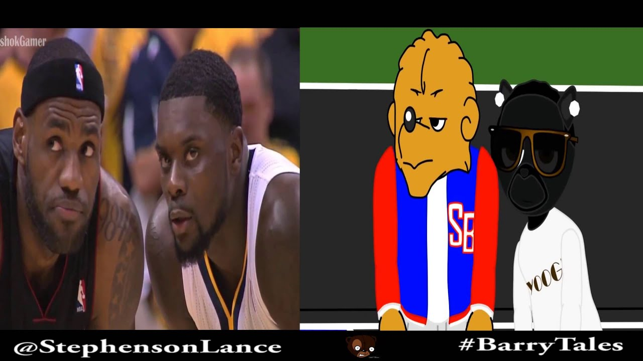 lance stephenson blowing in lebrons ear barry tales