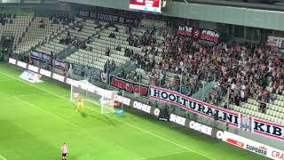 E: Cracovia - Jagiellonia Białystok [Cracovia Fans]. 2017-09-09