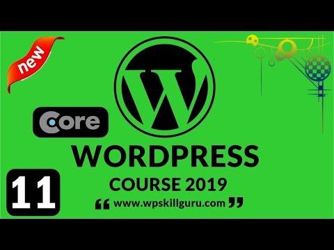 Core WordPress 2019 in Hindi - WP Plugins, Menu, Profile & Settings #11 thumbnail