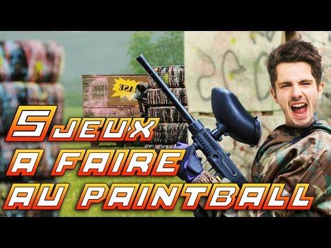 LES MEILLEURS JEUX À FAIRE AU PAINTBALL ! - GAMEPLEY