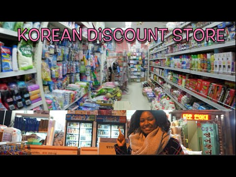 Follow Me Around: Korean Discount Store!!!