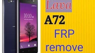 lava a72 frp remove 6.0  without pc & otg