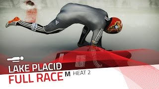 Lake Placid | BMW IBSF World Cup 2016/2017 - Men's Skeleton Heat 2 | IBSF Official