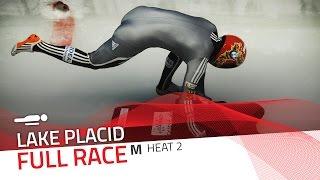Lake Placid | BMW IBSF World Cup 2016/2017 - Men's Skeleton Heat 2 | IBSF Official