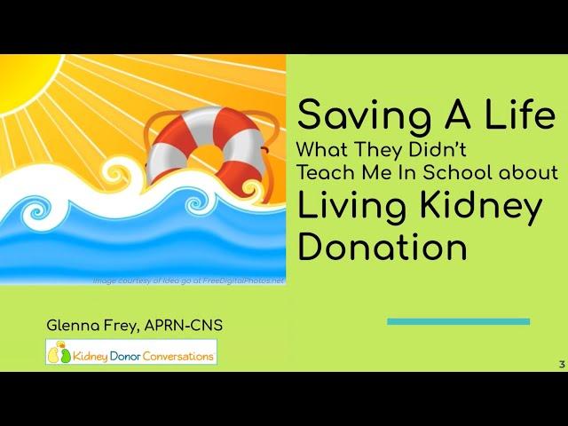 Saving A Life - Volunteer Onboarding