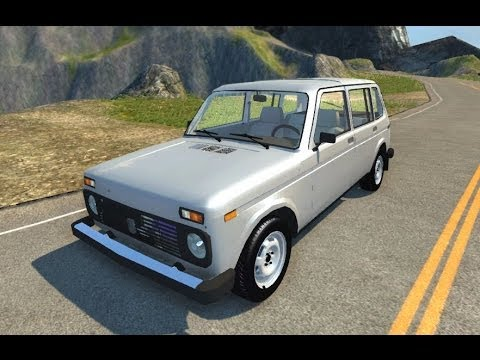 BeamNG.Drive Mod : Lada Niva (Crash test)