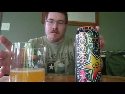 Rockstar Pure Zero Mango Orange Passion Fruit Energy Drink Review