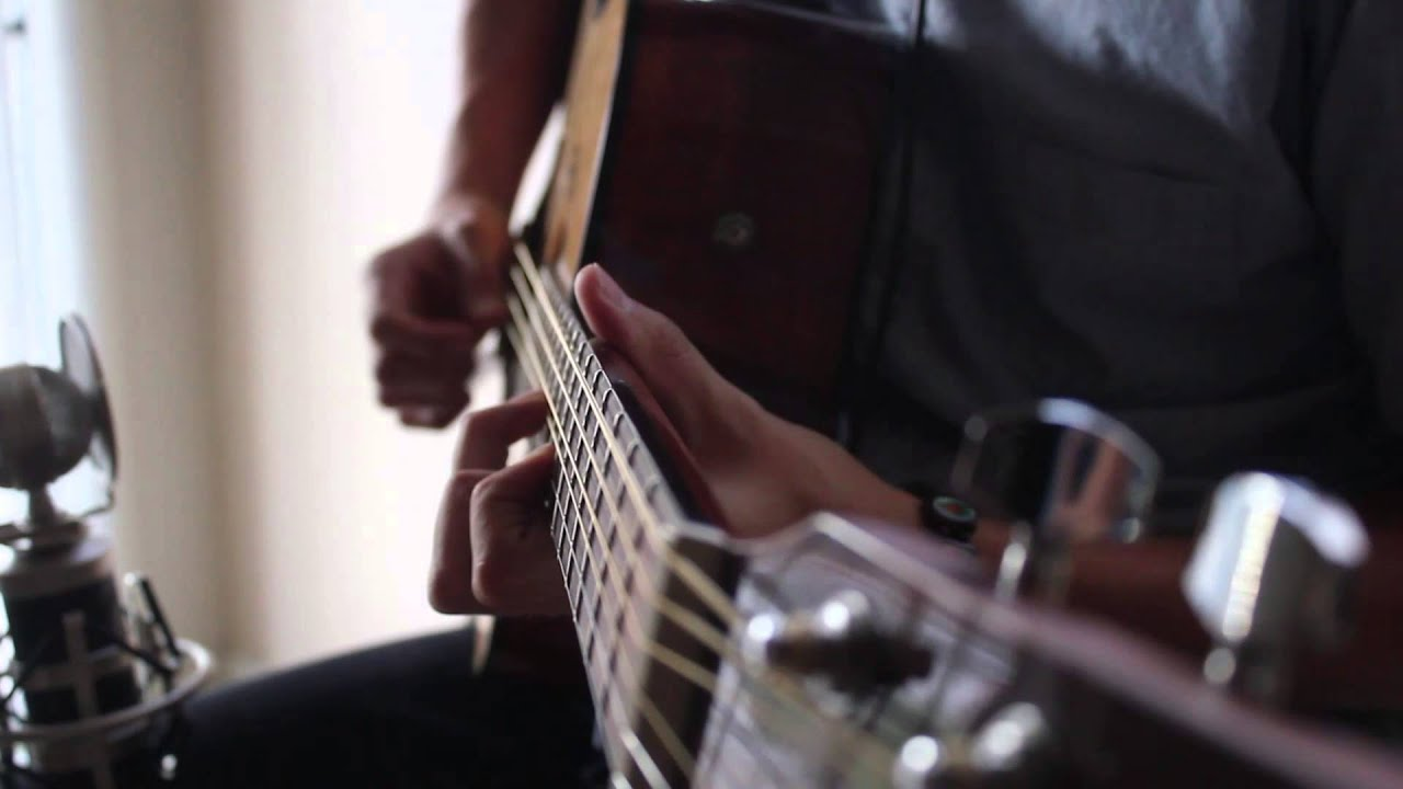 how to play misguided ghosts on guitar