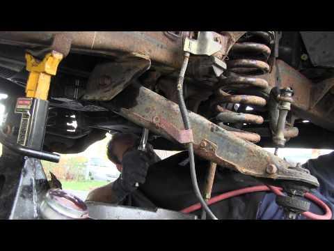 Garage X - Episode 3 - DJM Suspension Installation - Front