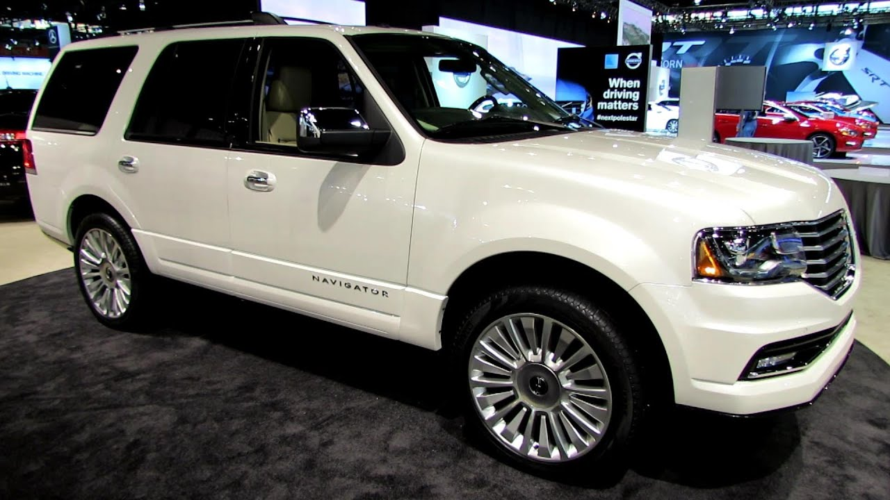 2015 Lincoln Navigator   Exterior And Interior Walkaround   Debut At 2014  Chicago Auto Show   YouTube