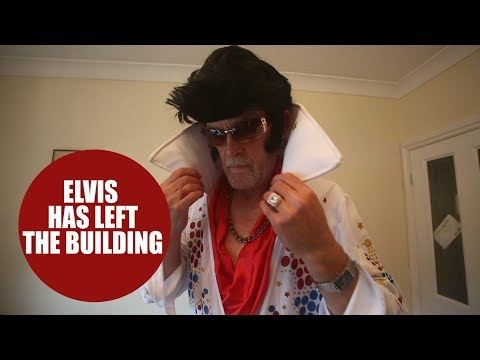 Wannabee Elvis impersonator has been banned from doing karaoke in his home town
