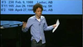 Malcolm Gladwell Explains Why Human Potential Is Being Squandered