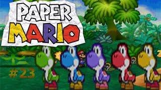 La búsqueda de los niños Yoshi/Paper Mario capítulo23