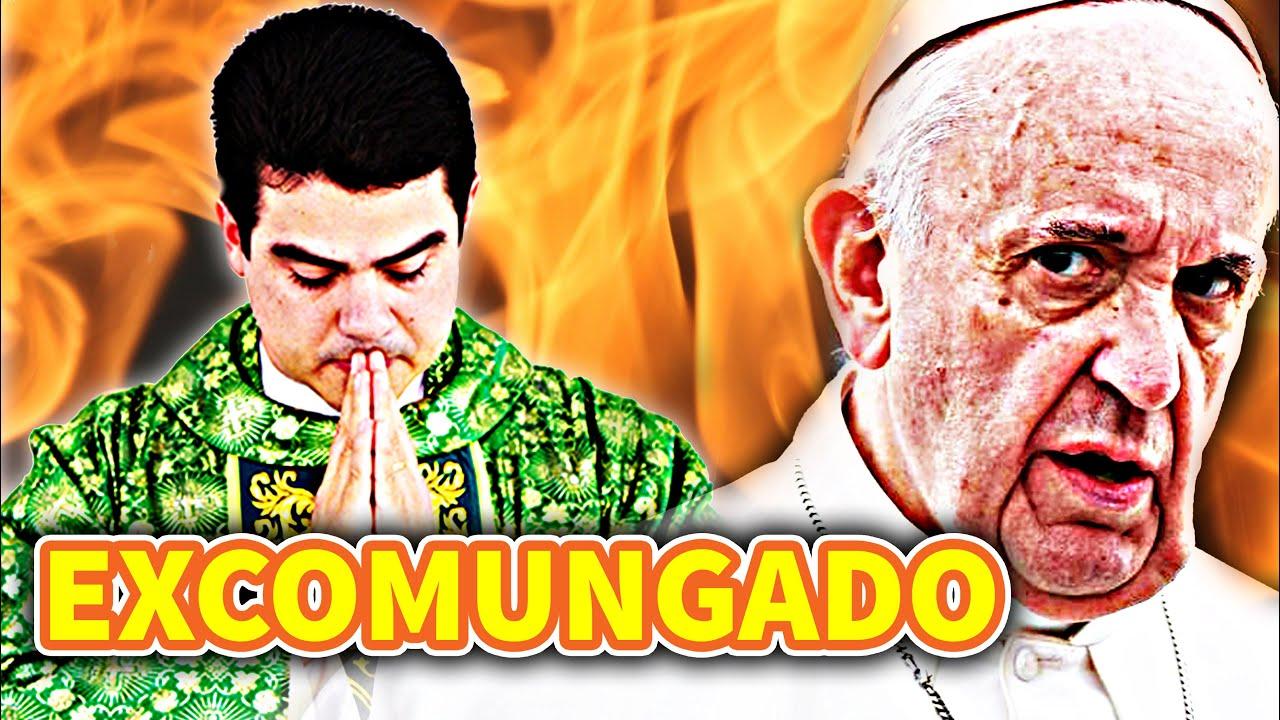 """VIDENTE LARGA UMA BOMBA! CATÓLICOS CHORAM """"PADRE ROBSON SERÁ EXCOMUNGADO"""""""
