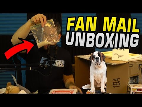 You won't believe what this kid sent me! Fan Mail Opening