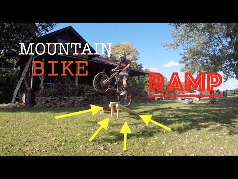 SICK WOODEN MTB RAMP! | HOW TO!