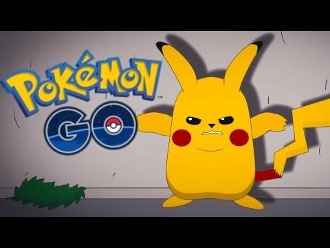 видео: pokemon go - Пикачу Потерял Терпение! (Мульт)