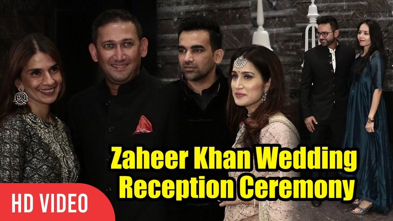 Private Ceremony Reception Later: Zaheer Khan Wedding Reception Ceremony