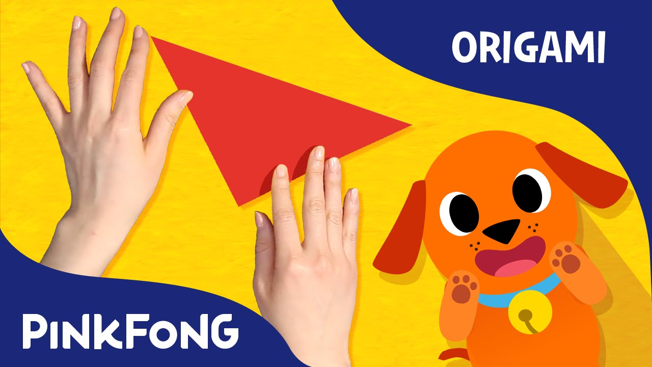 my pet my buddy dog animal song with origami