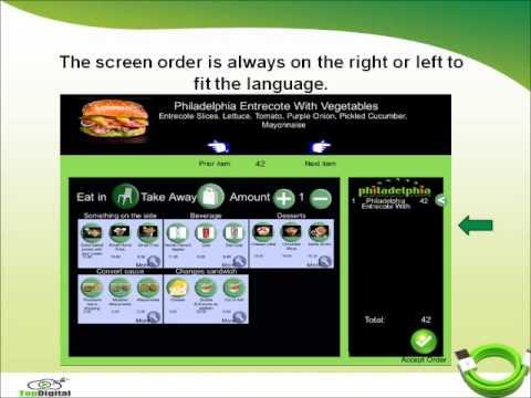 Food Self-Ordering Software