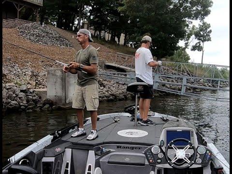 Lake Ozark Bass Fishing With Tim Lucas