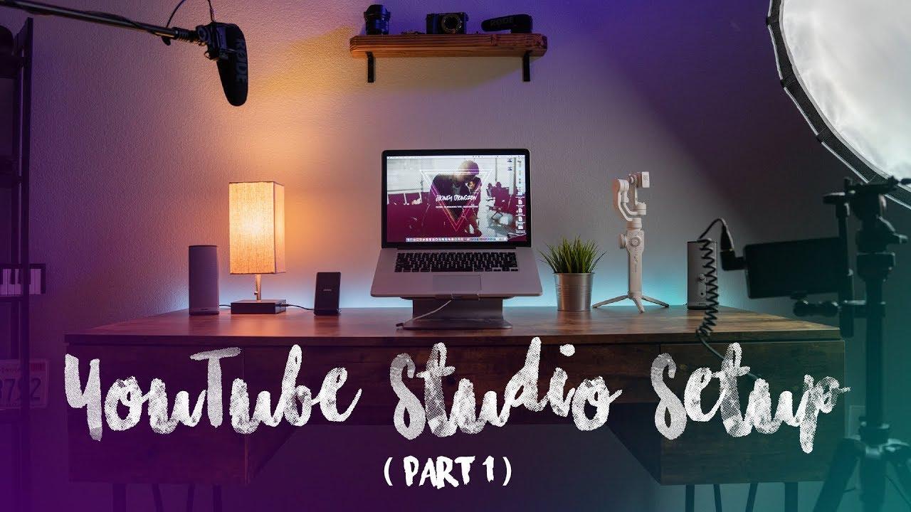 Help Me Set Up My Youtube Studio Youtube