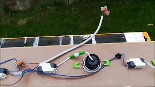 Lampe selber bauen LED Spots