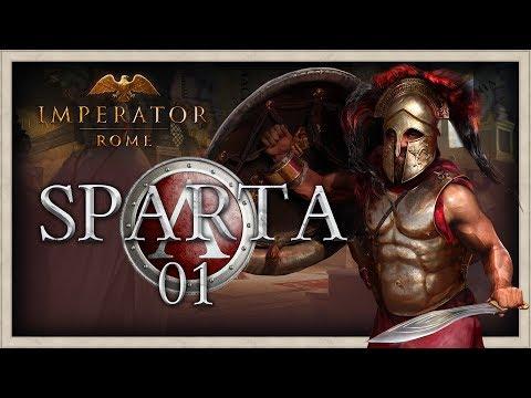 REBUILDING SPARTA!   Imperator Rome Sparta Campaign Gameplay #1