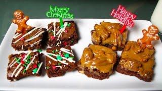 BEST BROWNIES (CHRISTMAS)