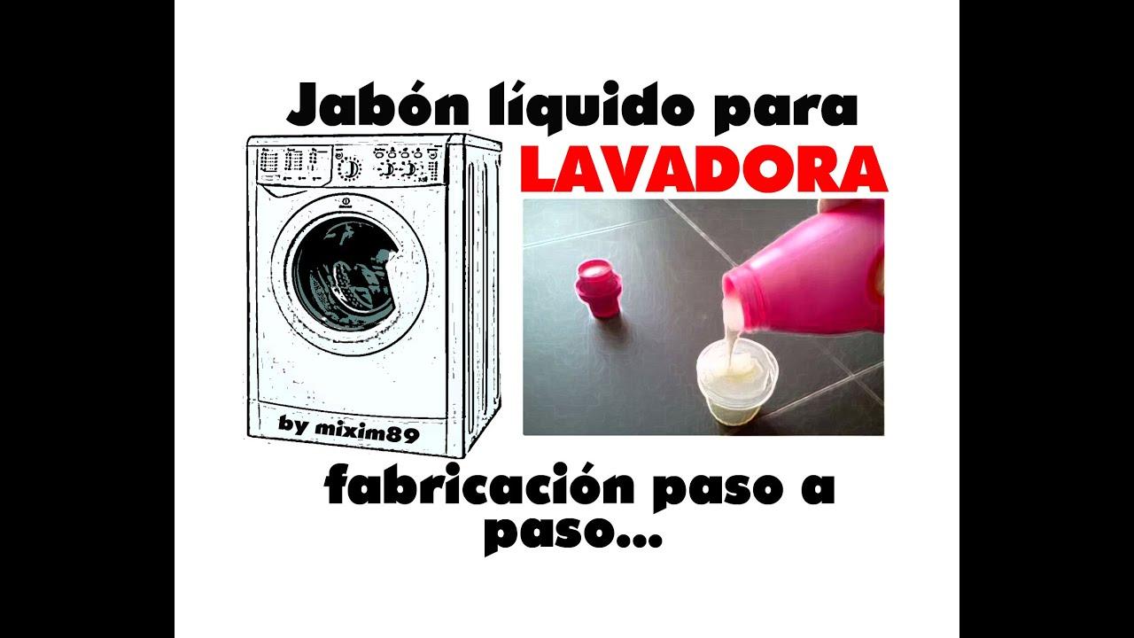 Jab n l quido para lavadora fabricaci n paso a paso by - Jabon natural para lavadora ...