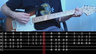 John Frusciante - The Past Recedes (lesson w/ Play Along Tab)