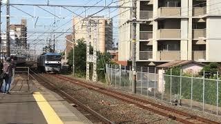 【甲種輸送】JR東日本E261系サフィール踊り子号 安城駅到着