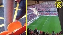 Die dümmsten Stadion-Sitzplätze der Welt: Tottenham, Hertha, Chelsea | TOP 10