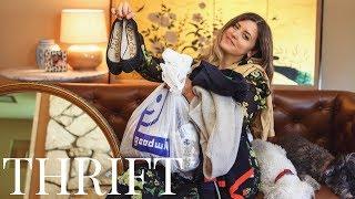 Thrift Haul - Home Decor & Clothing