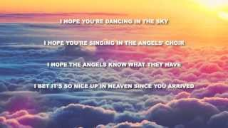 Dani and Lizzy -Dancing in the Sky (Official Karaoke Version)