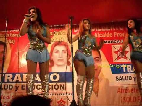 AGUA BELLA 2010 -Rockola Mix 1 en vivo