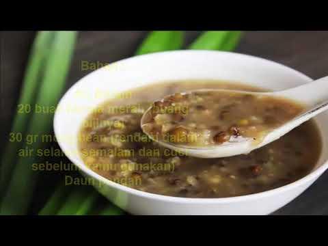 Cara mengobati Kanker Serviks dengan Bubur Kacang