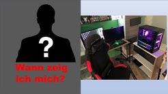 """Wann zeig ich mich?🤔Mein ERSTES """"Gamingzimmer""""! UNBOXING ASTRO A40 und WEBCAM!🤑"""