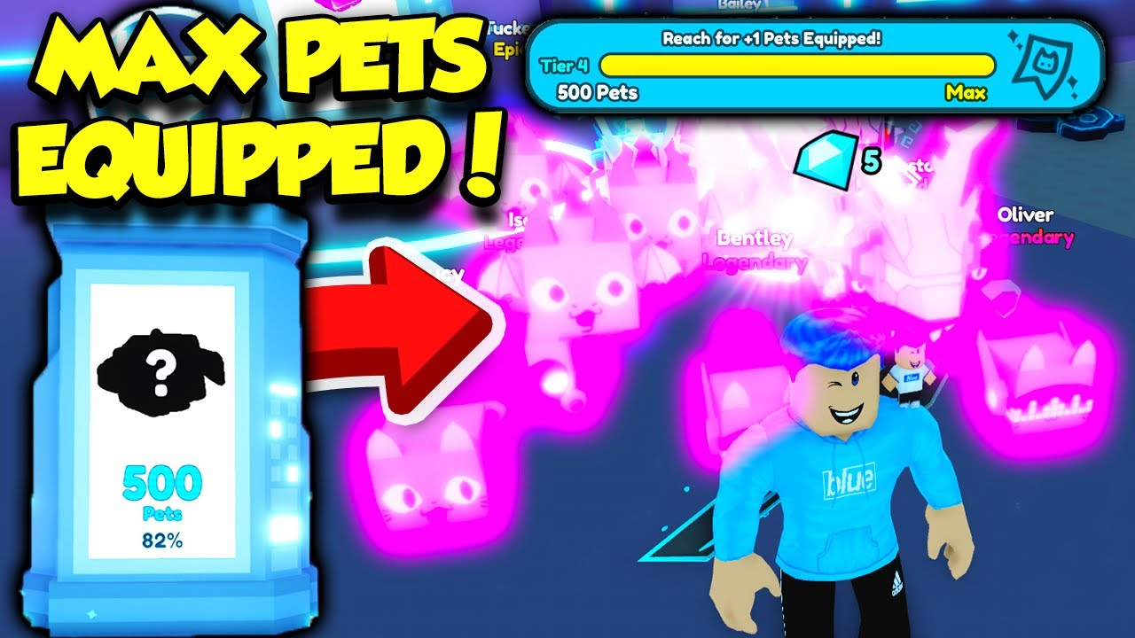 Download I Collected 500 PETS In Pet Simulator X And Got MAX PETS EQUPPED!! *INSANE* (Roblox)