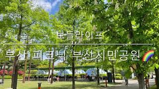 [보들라이프] 부산 피크닉 부산시민공원 (feat. 소…